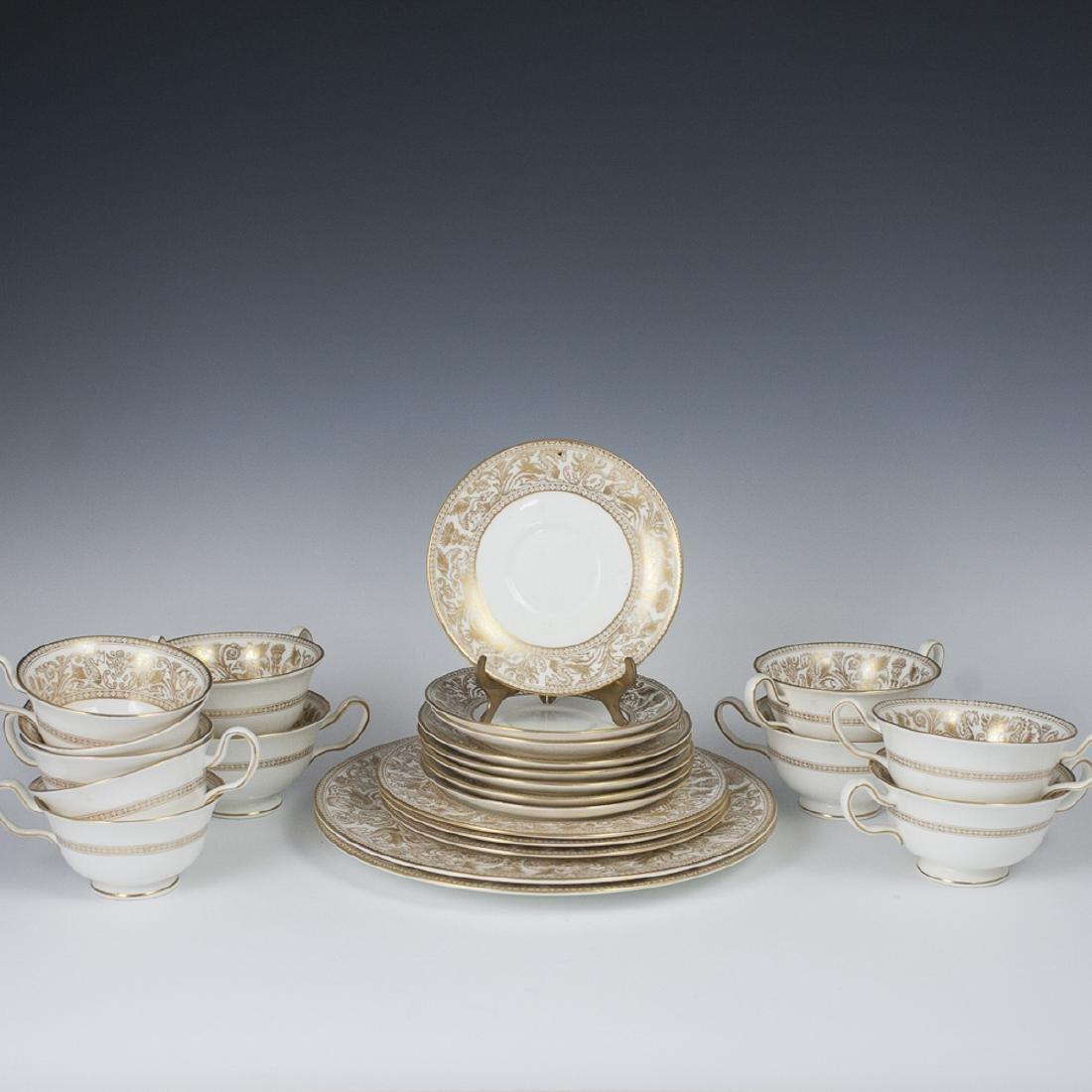 "Wedgwood Porcelain ""Florentine"" Set"