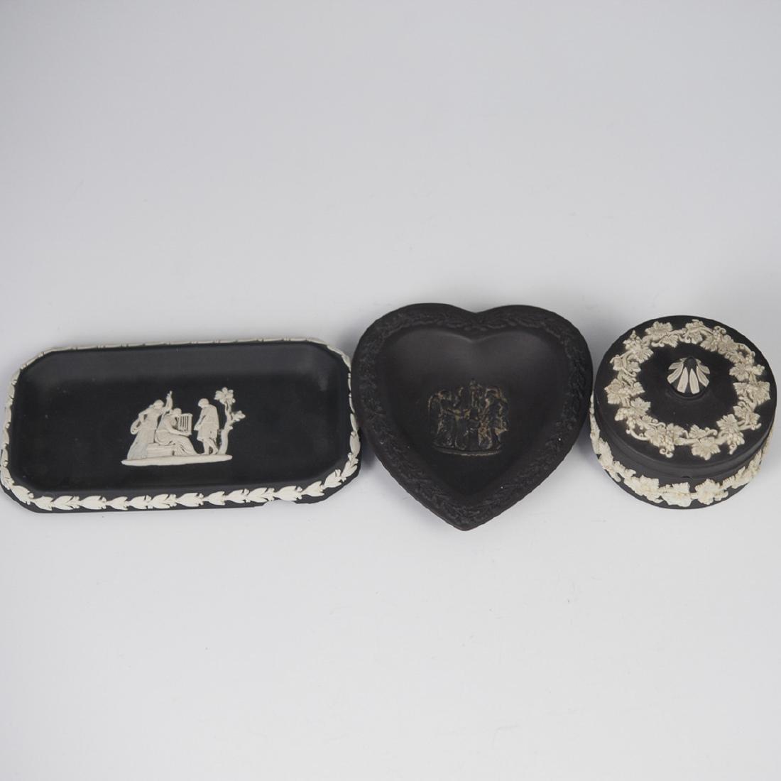 Wedgwood Black Jasperware Set