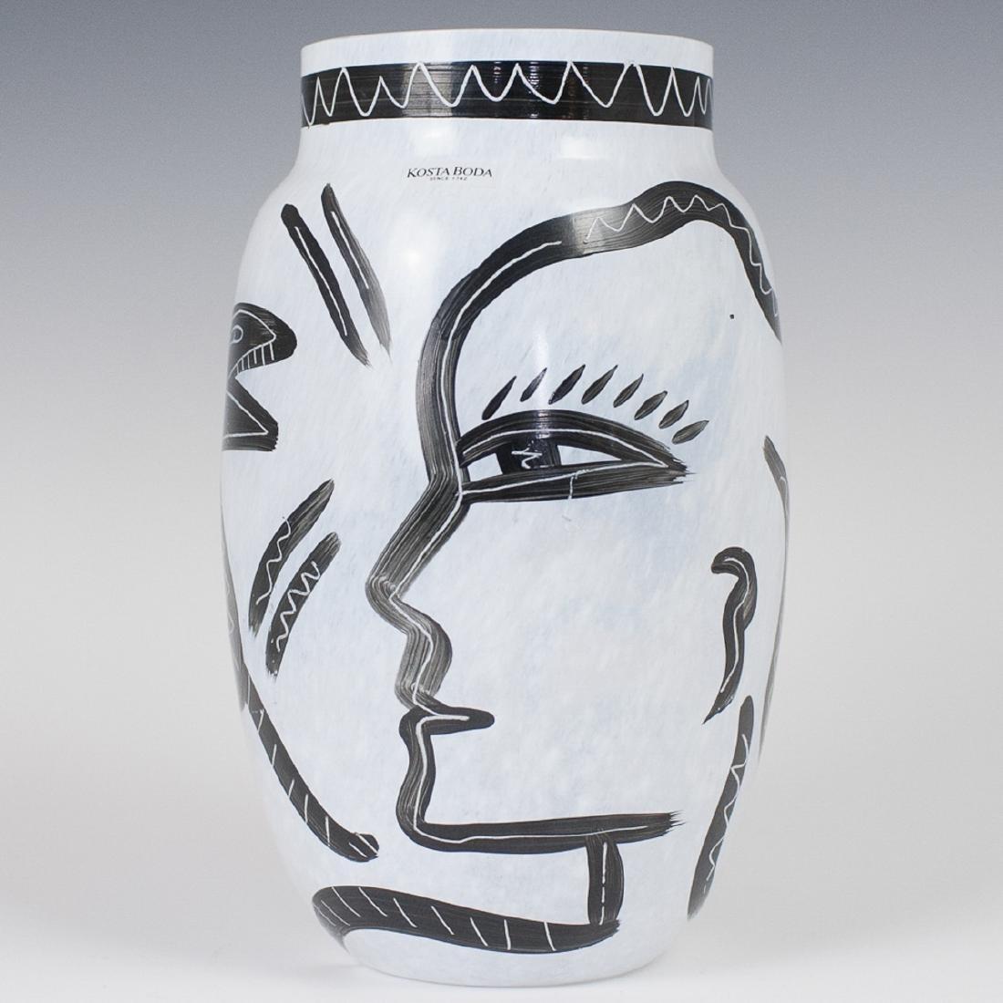 Kosta Boda Ulrica Hydman Vallien Vase
