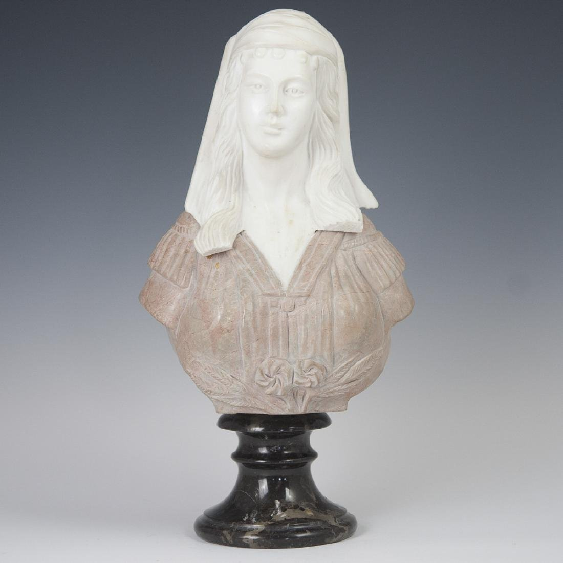 Neoclassical Italian Marble Bust