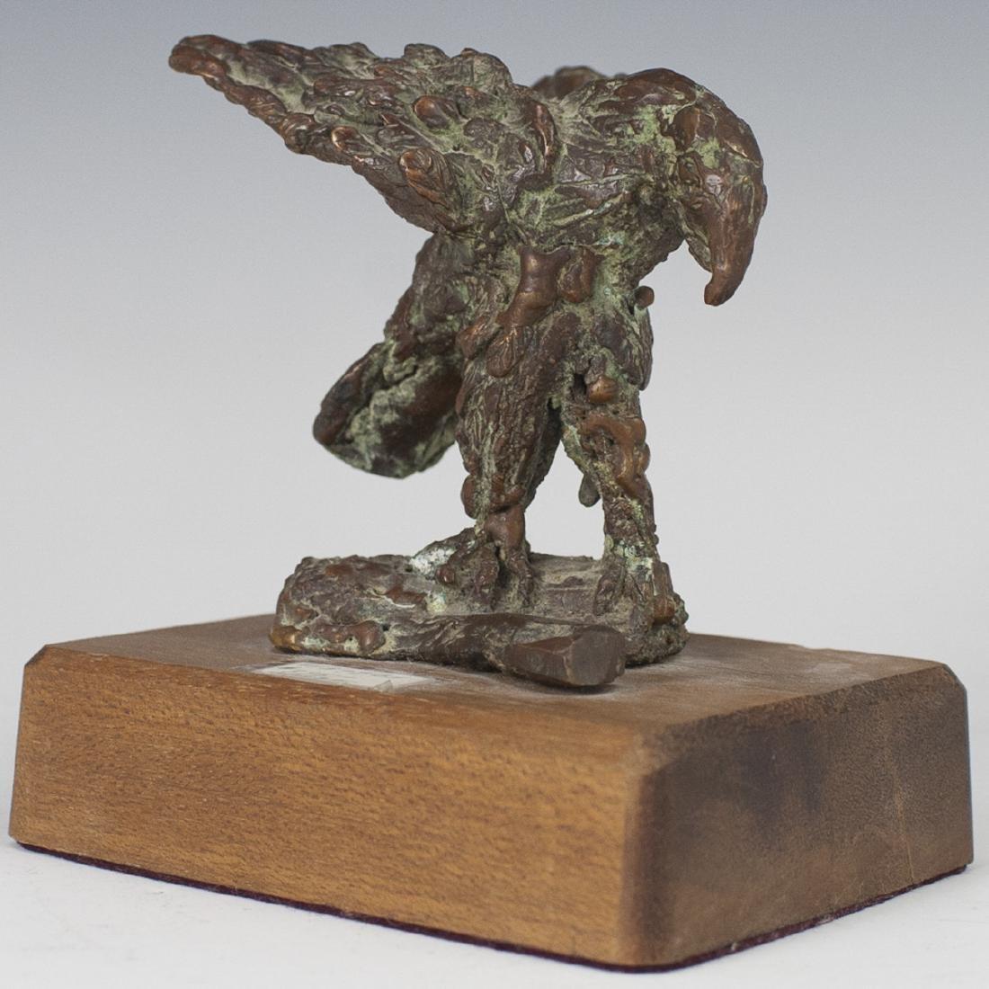 Bronze Eagle Figurine