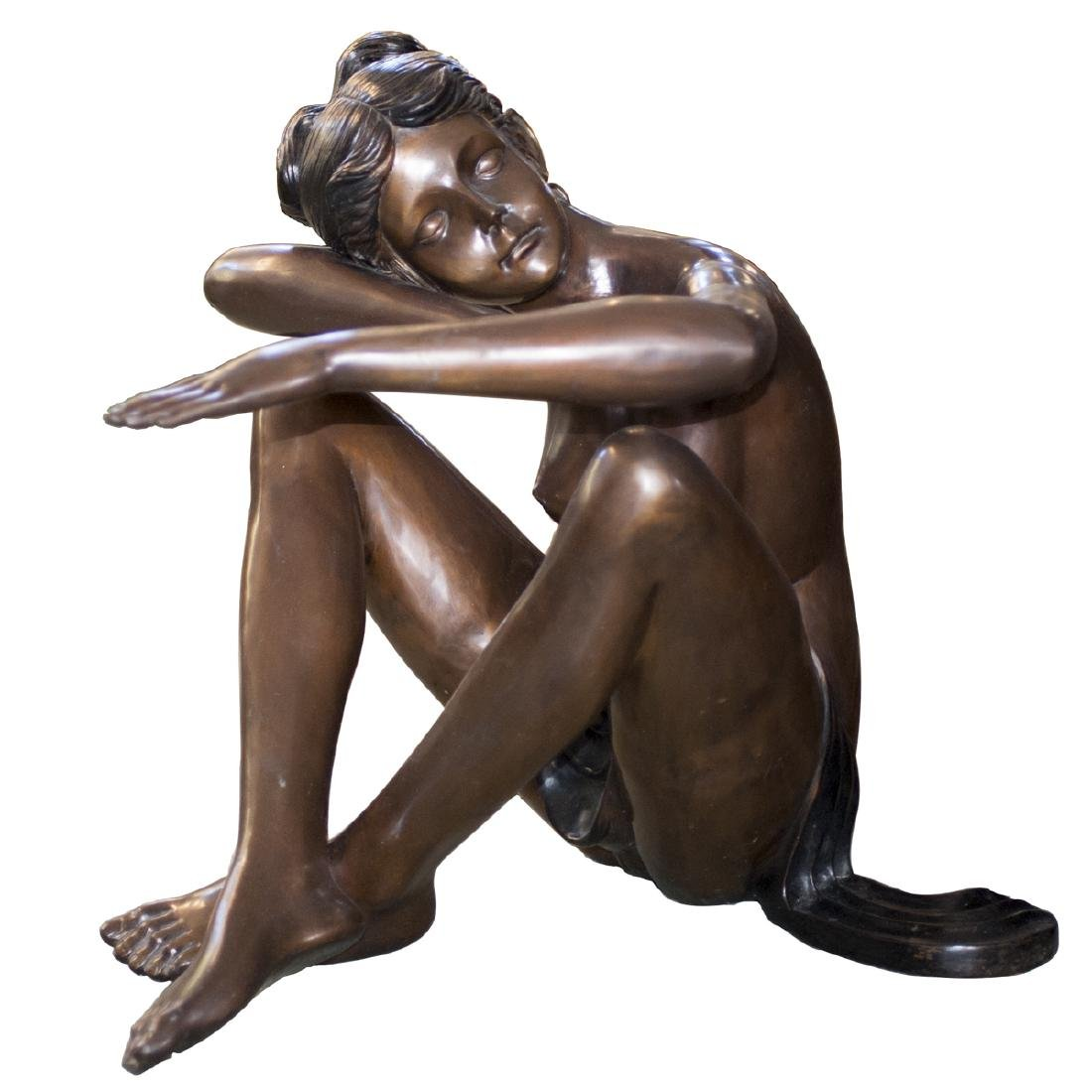 Large Erotic Bronze Sculpture