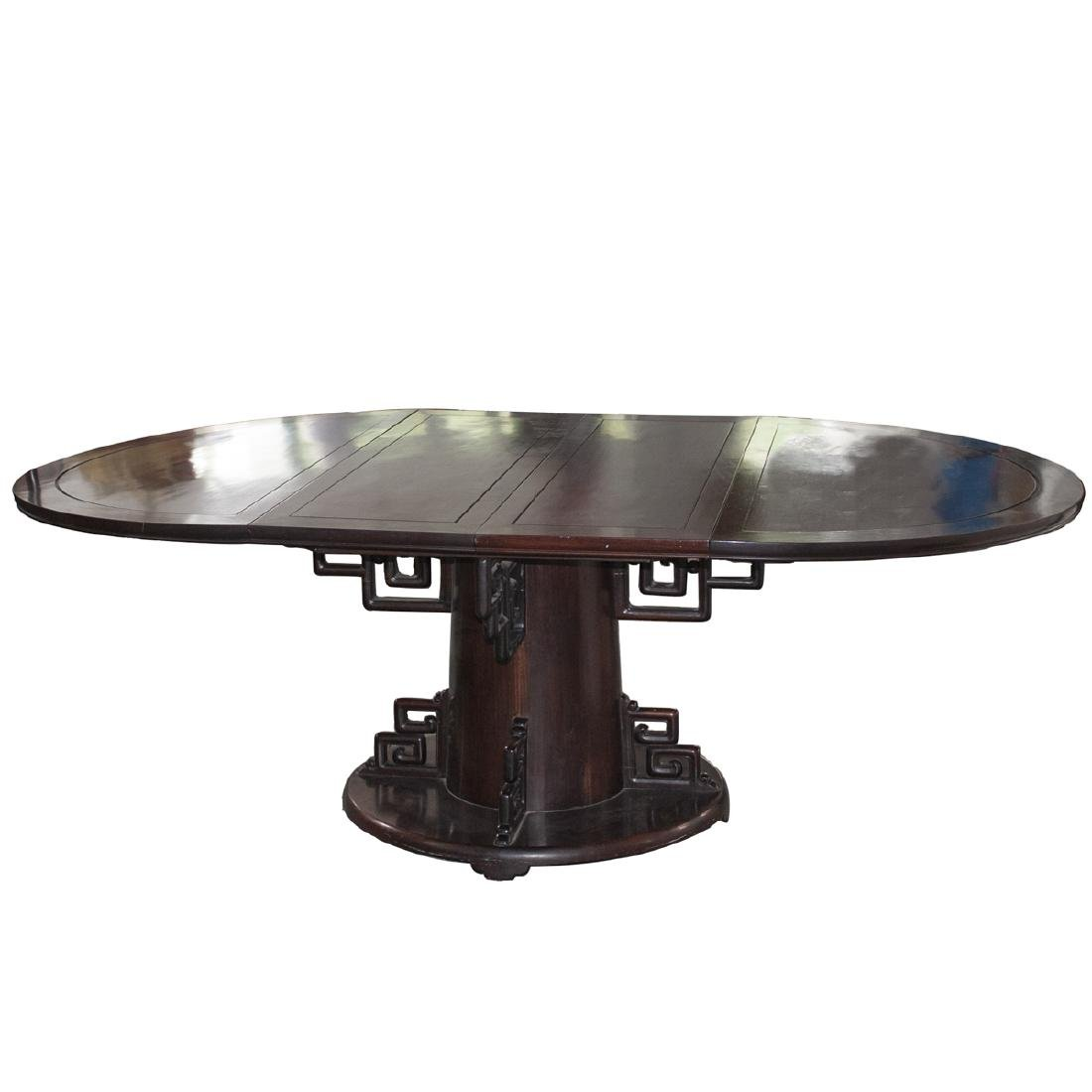 Chinese Republic Rose Wood Dining Table