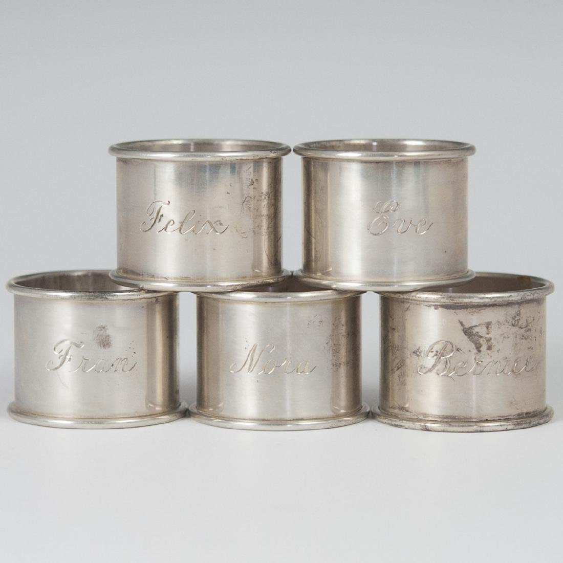 Towle Sterling Napkin Rings