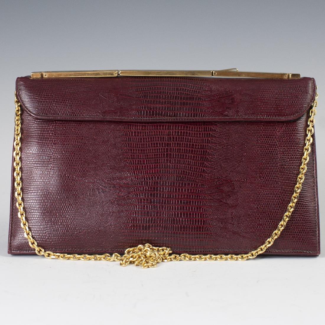 Vintage Caprice Snake Leather Purse