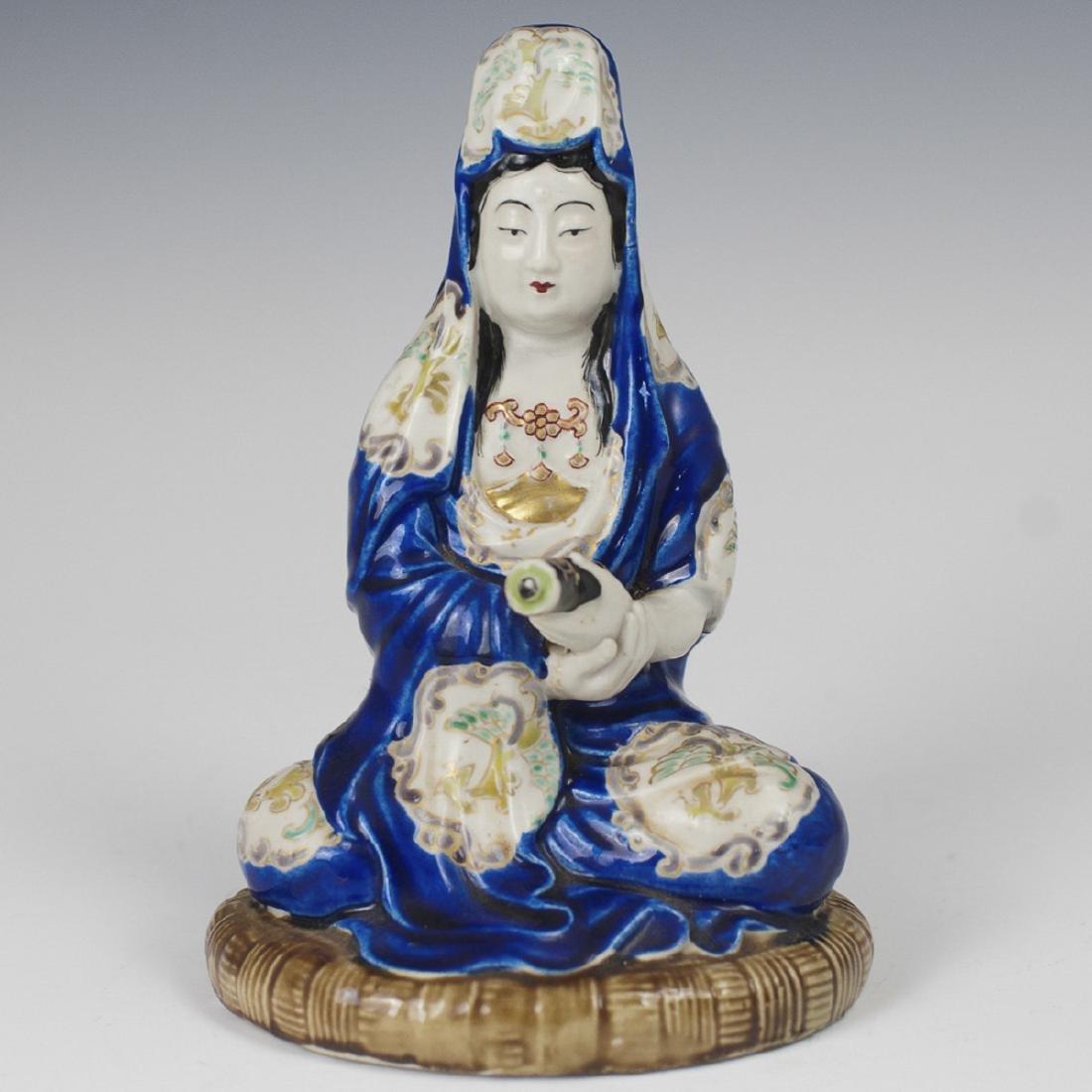 Chinese Porcelain Glazed Guanyin