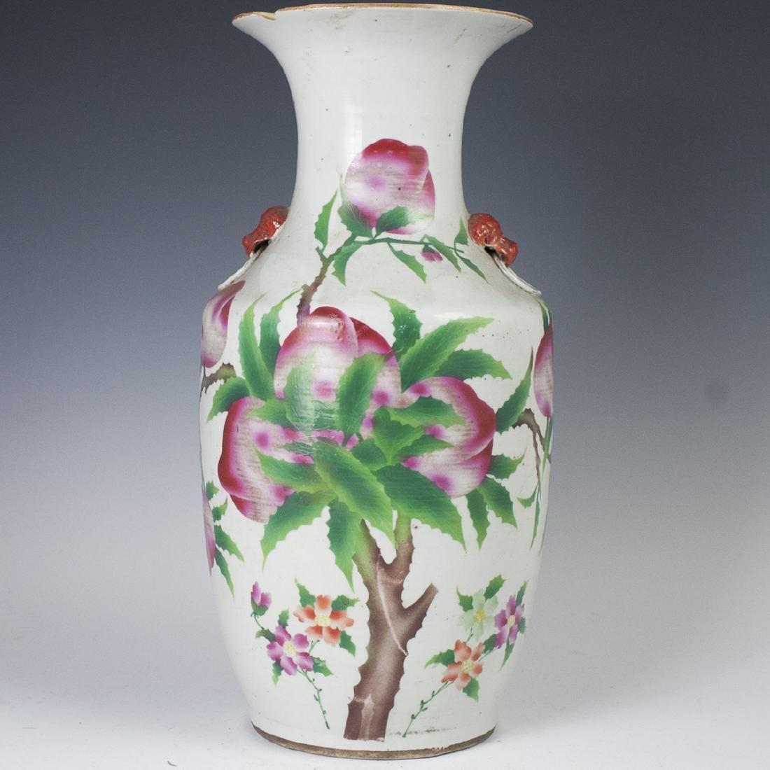 Antique Chinese Porcelain Baluster Vase