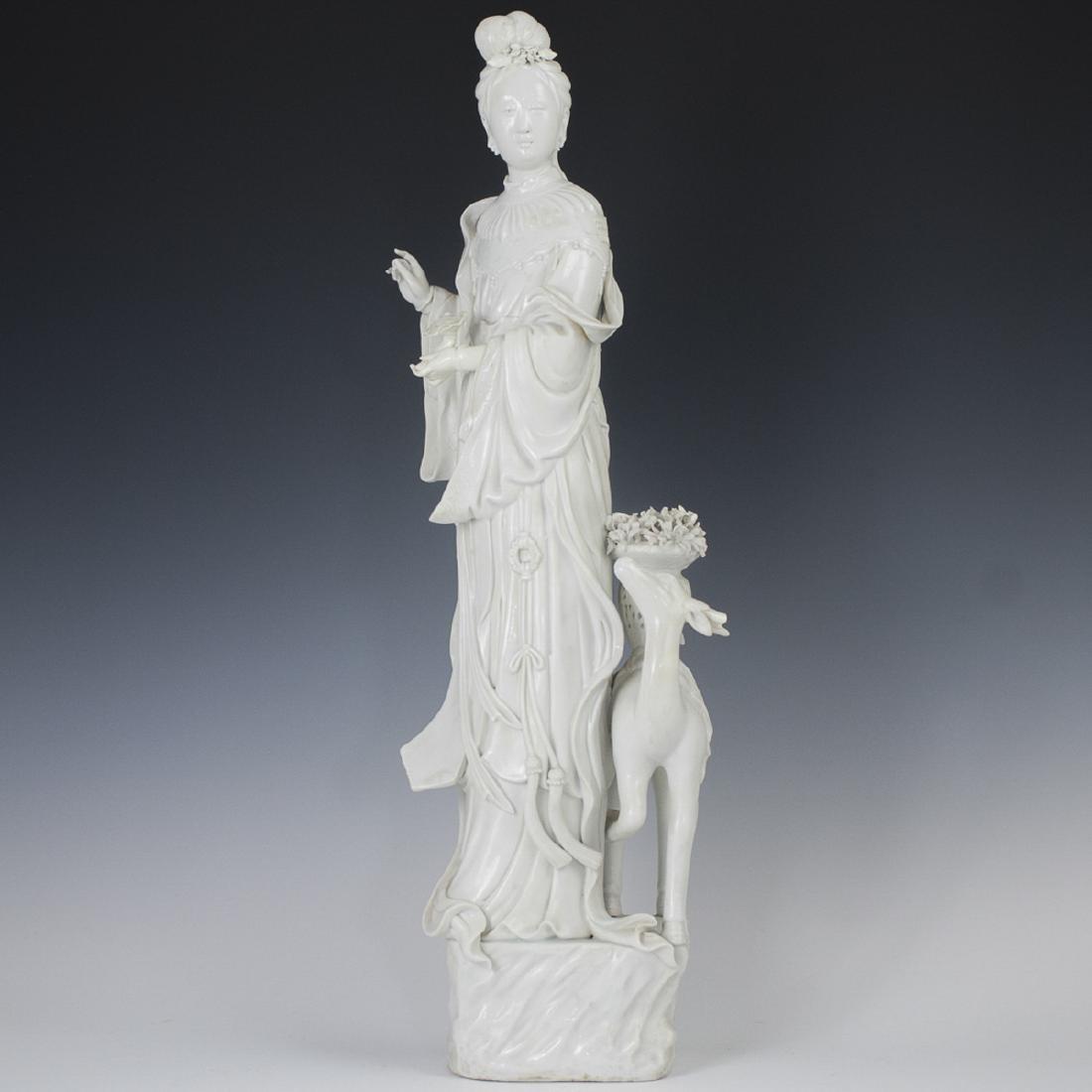 Chinese Blanc De Chine Guanyin