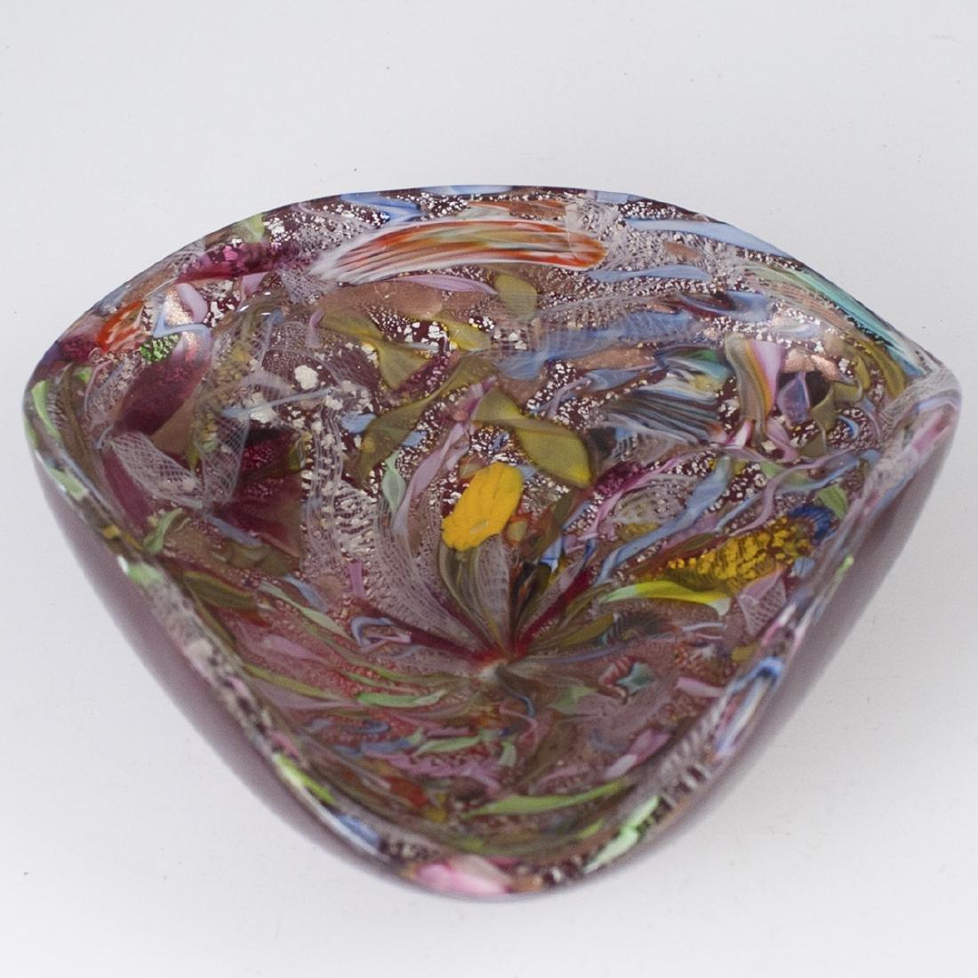 AVEM Zanfirico Murano Glass Vide Poche
