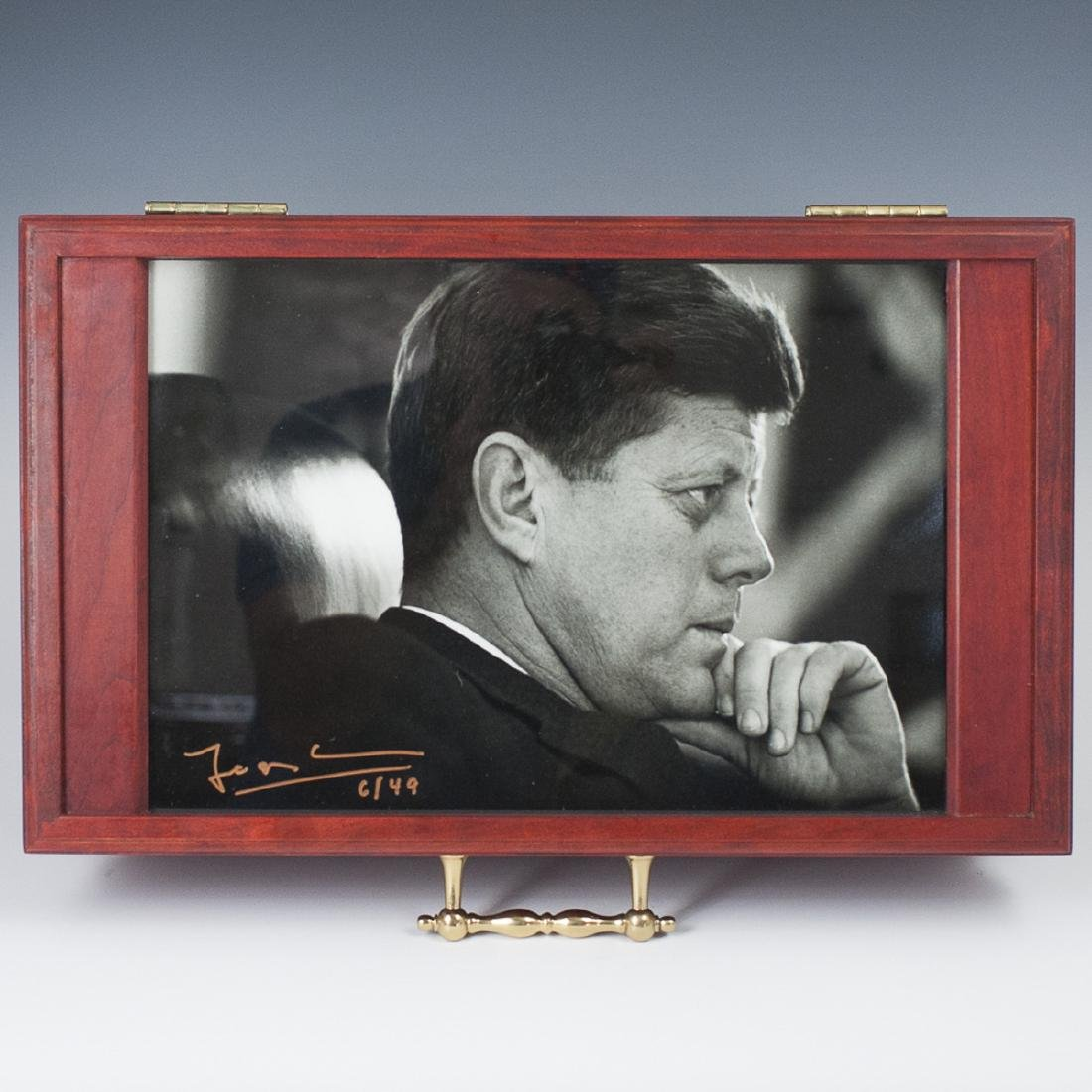 "Wooden John F. Kennedy ""The Presidential Humidor"""