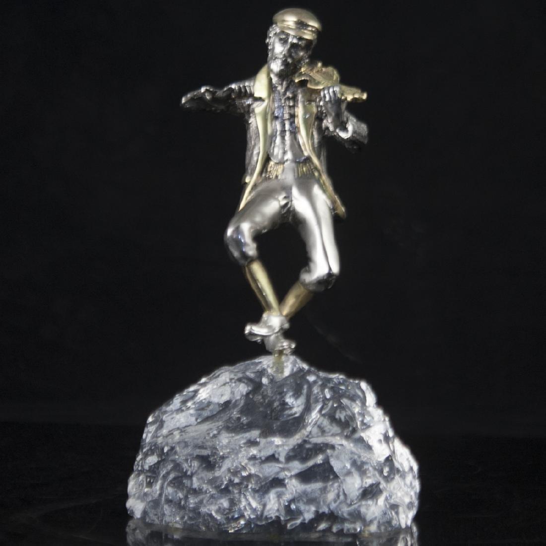 "Yaacov Heller ""Fiddler"" Figurine"