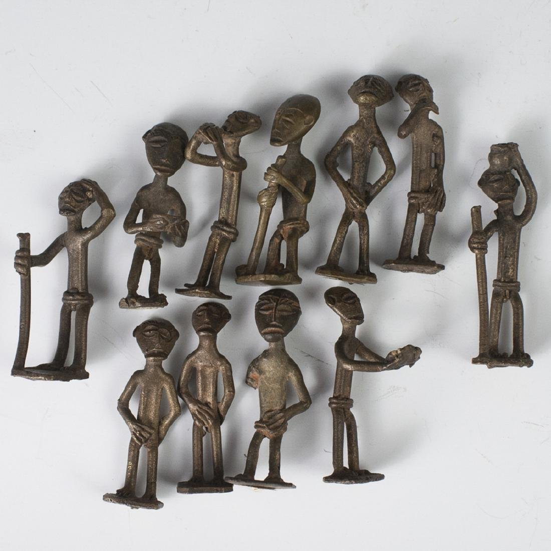 Antique African Bronze Figurines
