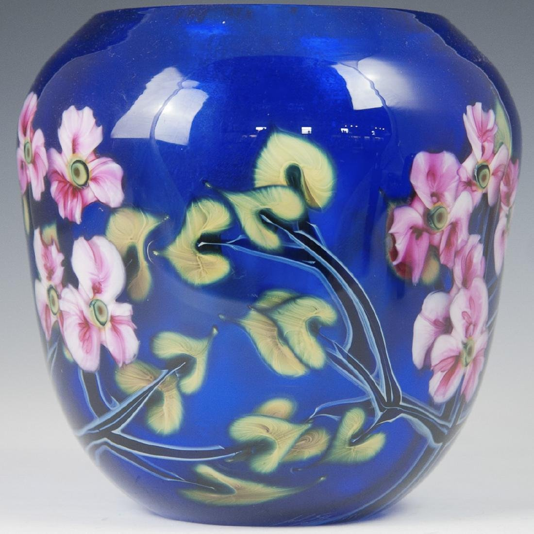 John Lotton Art Glass Vase