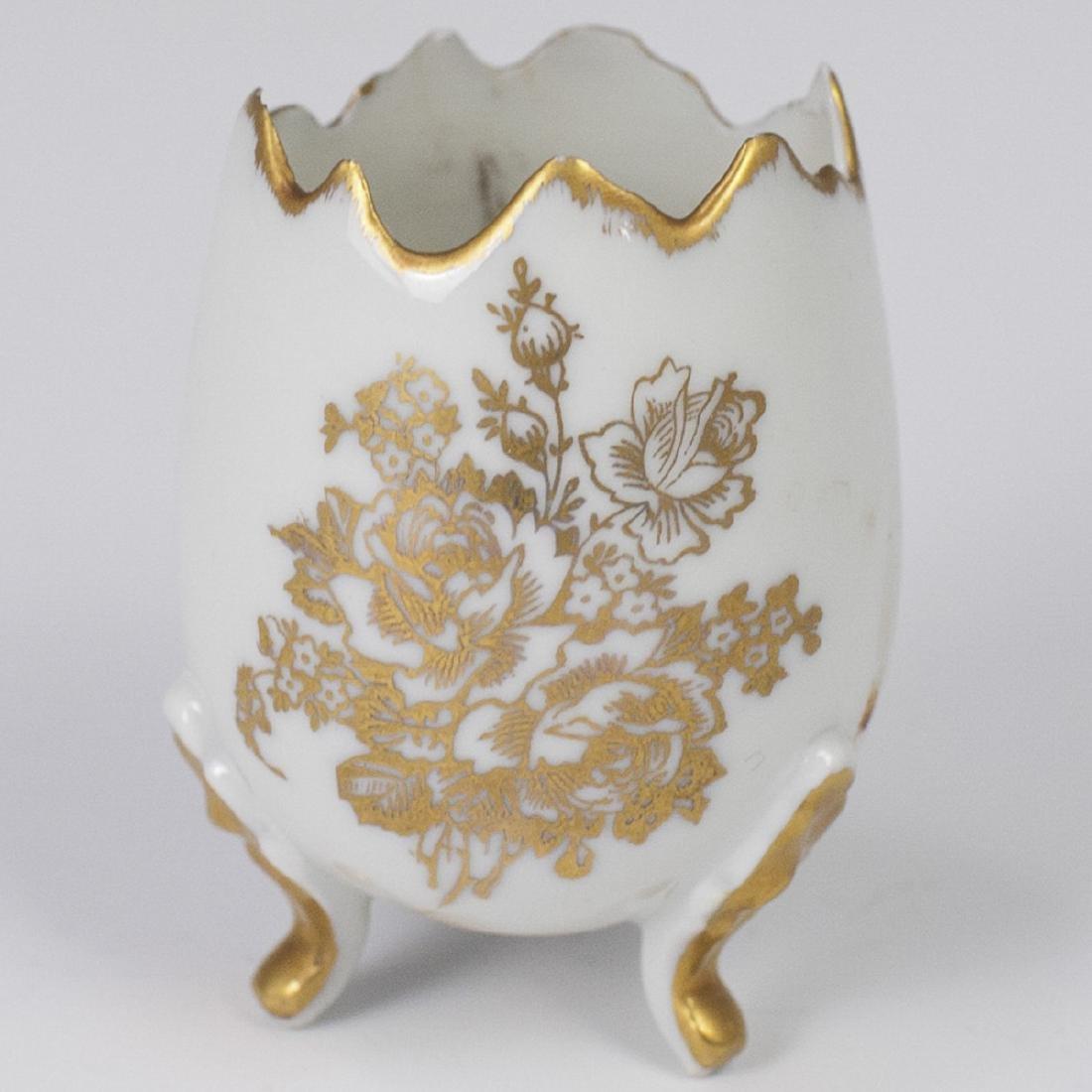 Porcelaines D'Art Limoges Egg Cup