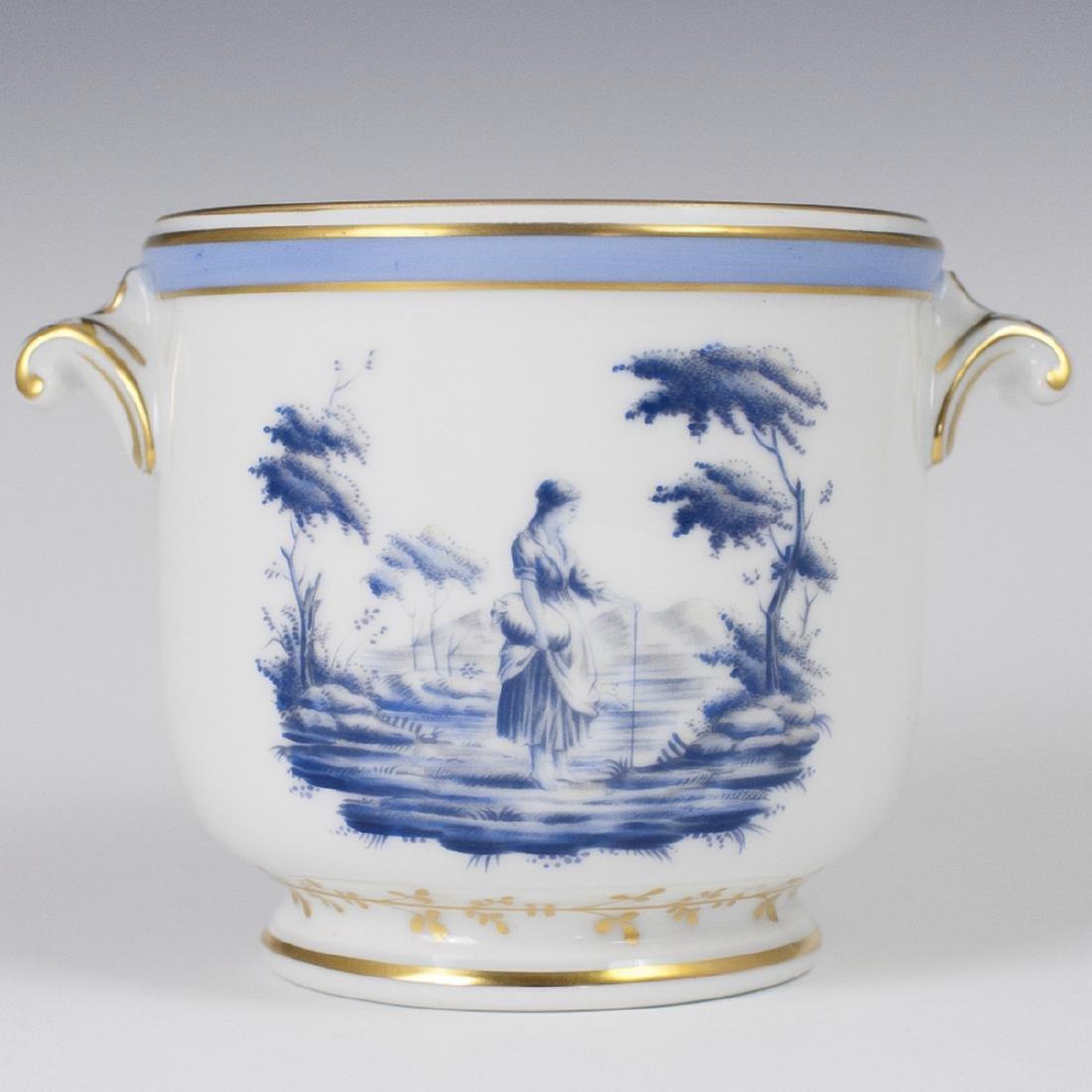 Richard Ginori Porcelain Cachepot