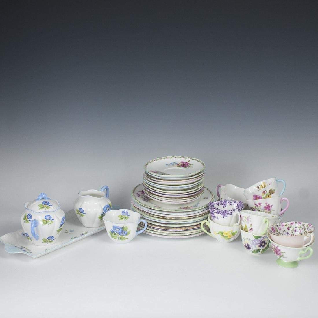 Shelley Bone China Tea Set