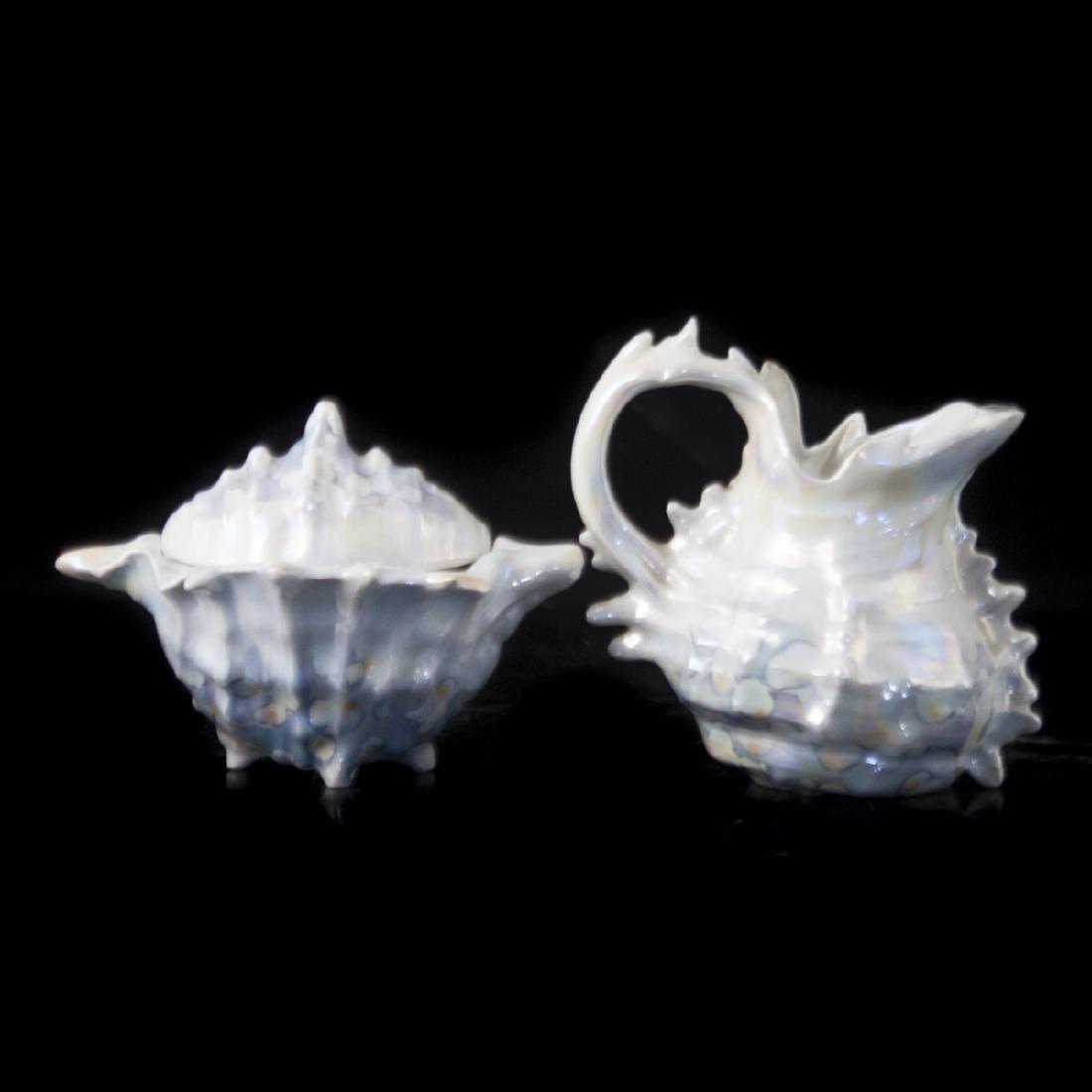 Royal Bayreuth Pearlescent Porcelain Tea Set