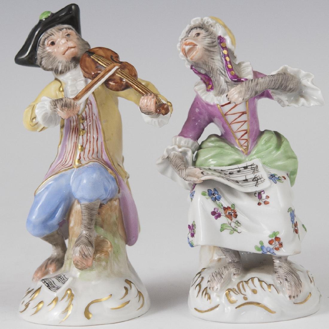 Saxon Porcelain Manufactory Dresden Figurines