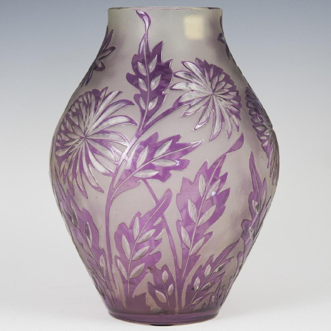Antique Cut Crystal Vase