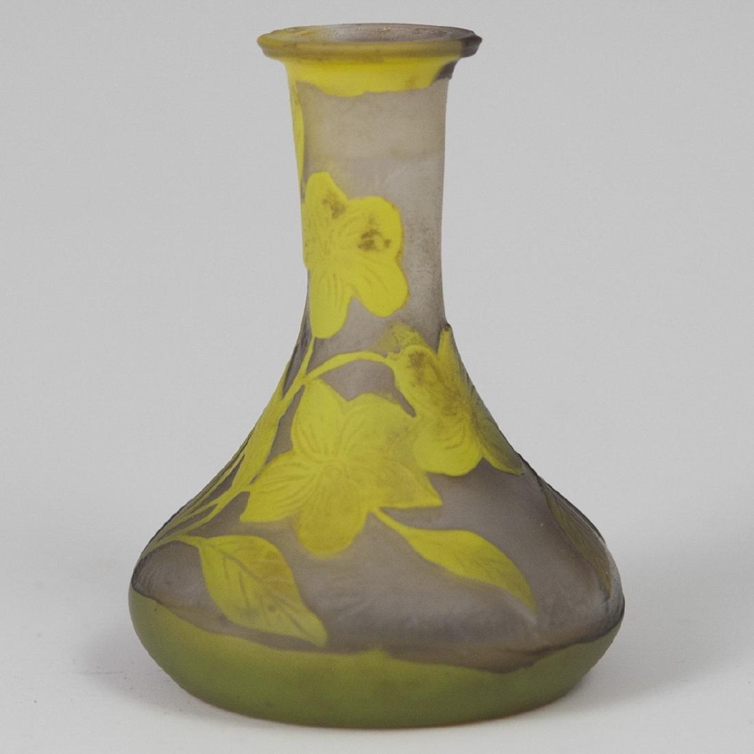 Cameo Glass Diminutive Vase - 2