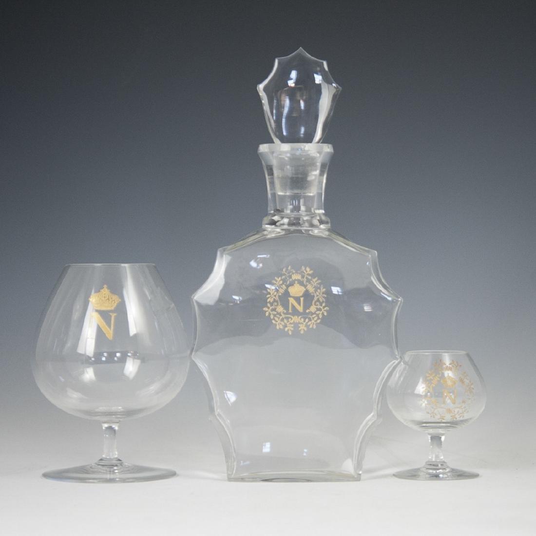 Baccarat Crystal Napoleon Set