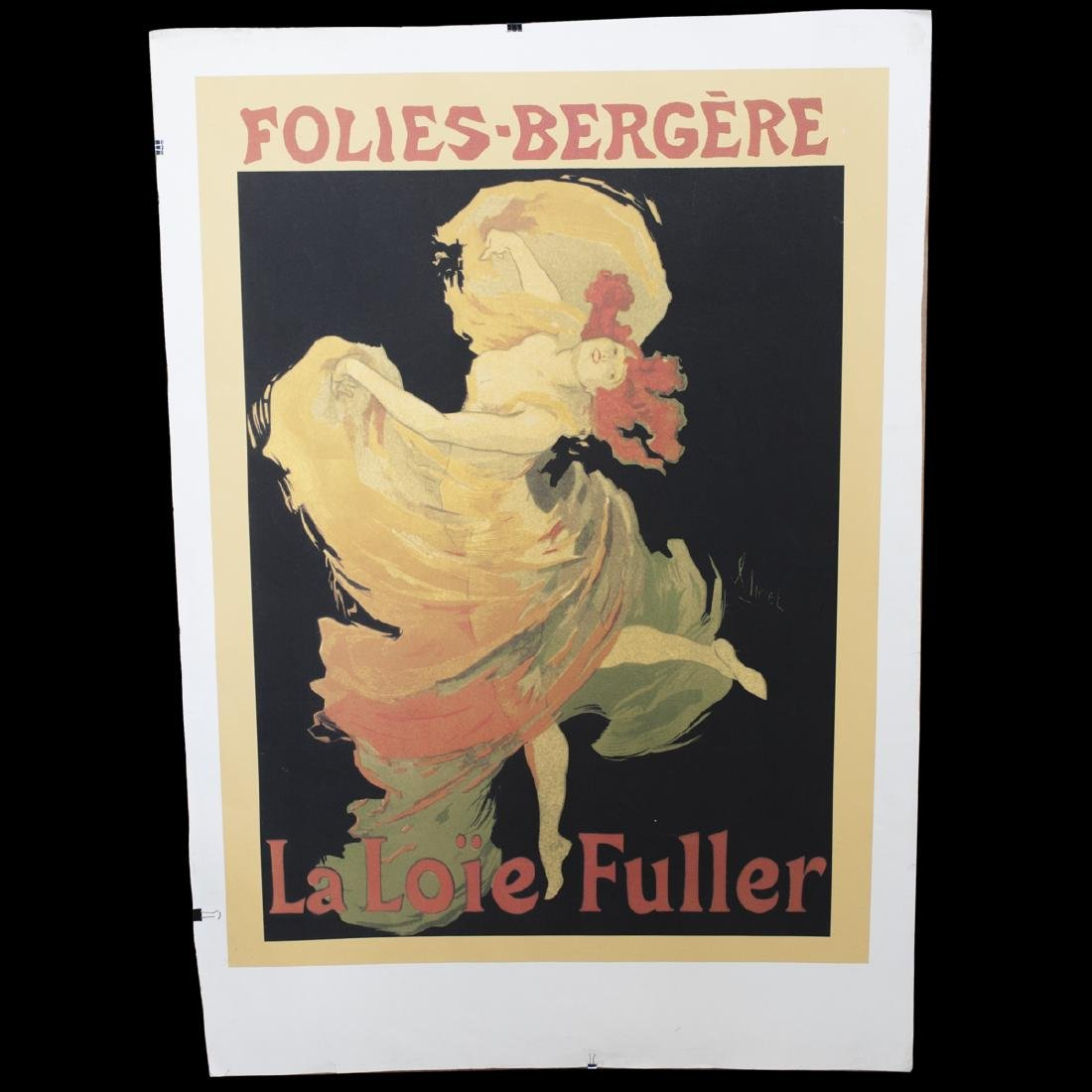 "French ""Folie Bergere"" Poster"