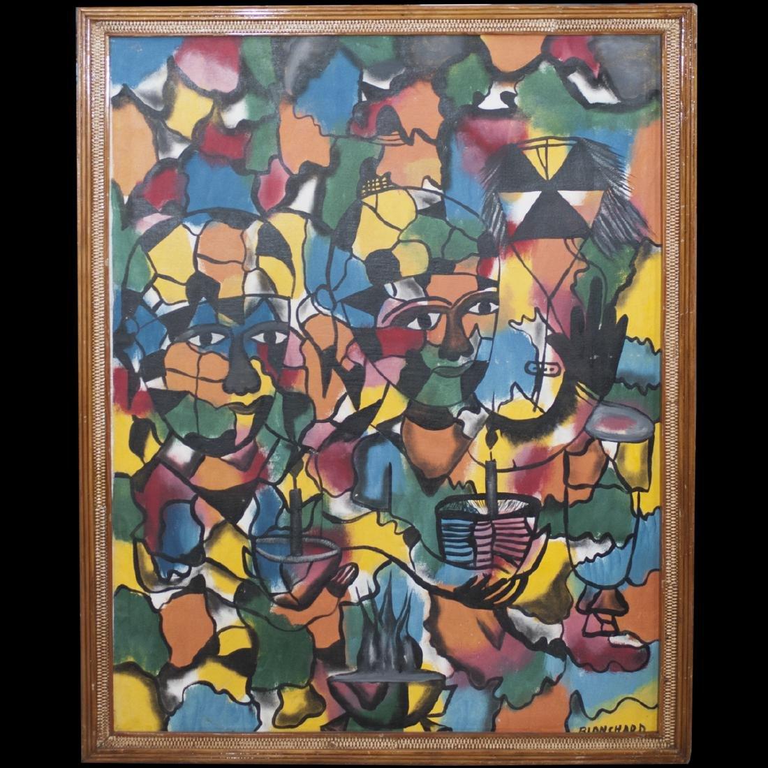 Sisson Blanchard (Haitian 1929-1981)