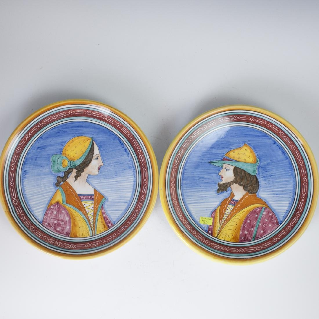 Deruta Italian Pottery Chargers