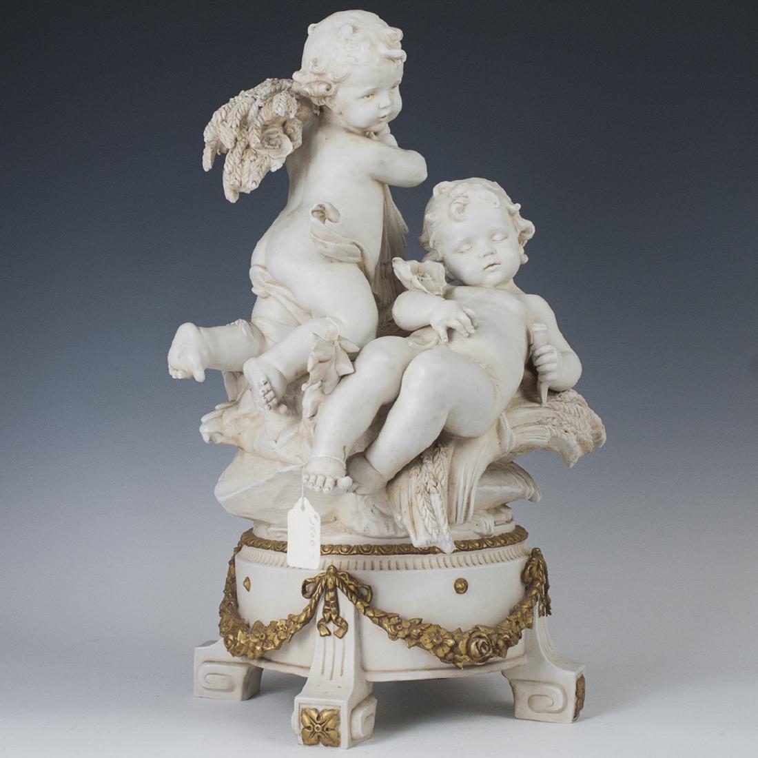 Antique French Parian Ware Sculpture