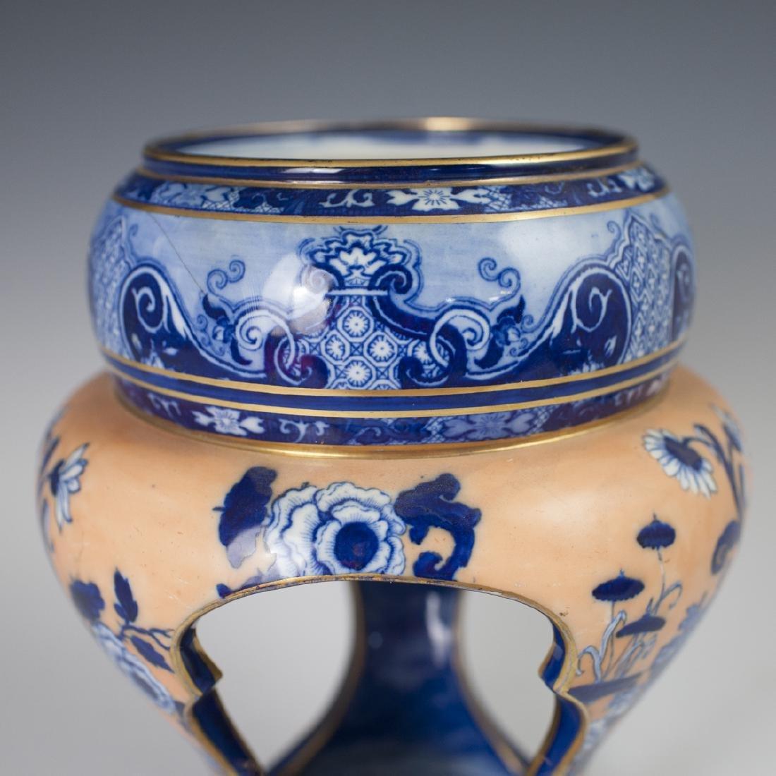 Doulton Burslem Porcelain Vase - 7