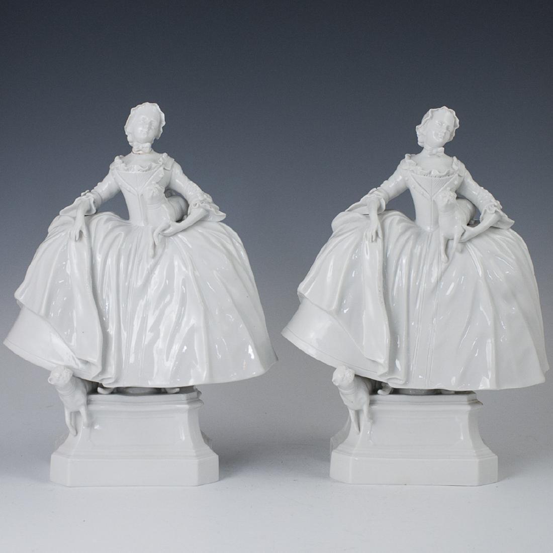 Carl Thieme German Porcelain Figurines