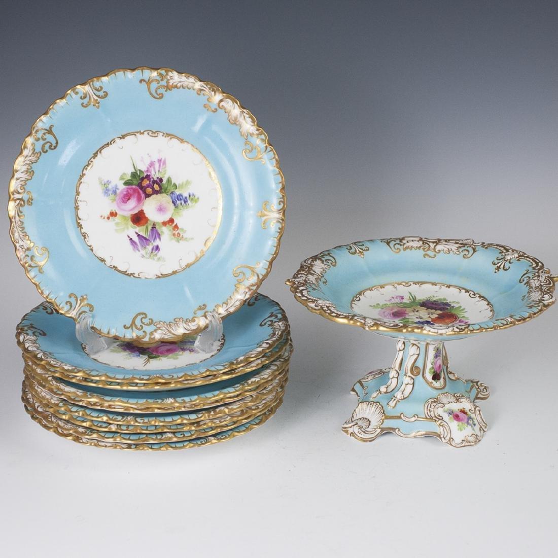Antique Copeland Porcelain Set
