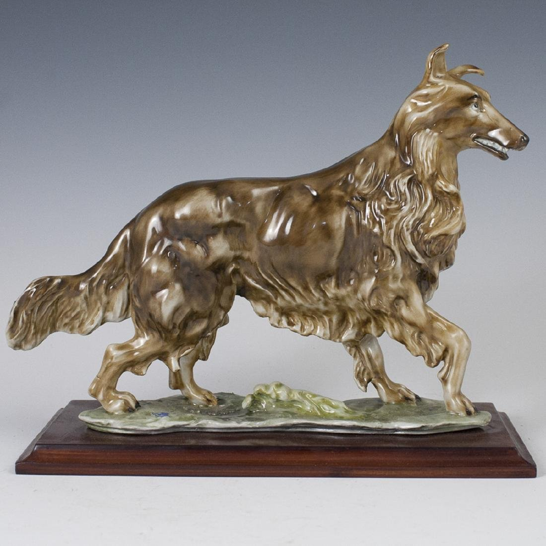 Italian Porcelain Shepherd Figurine