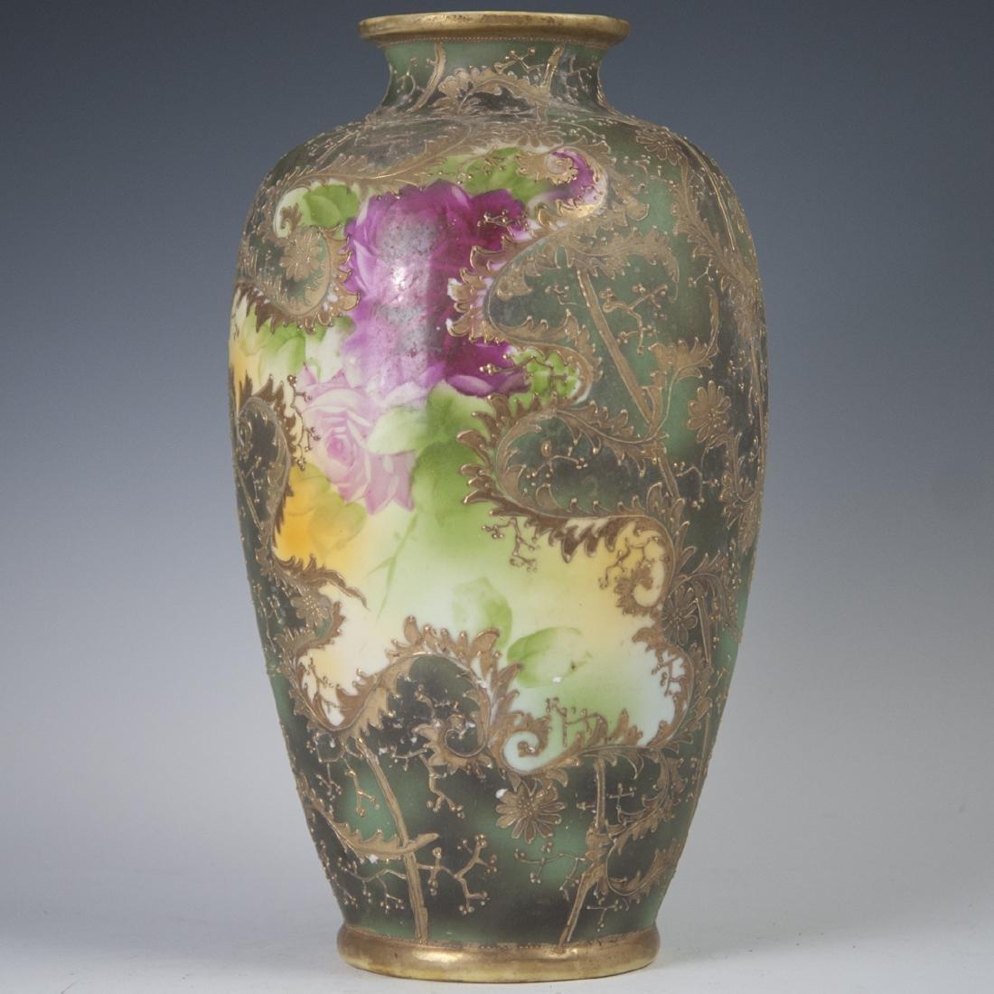 Antique Austrian Art Nouveau Porcelain Vase