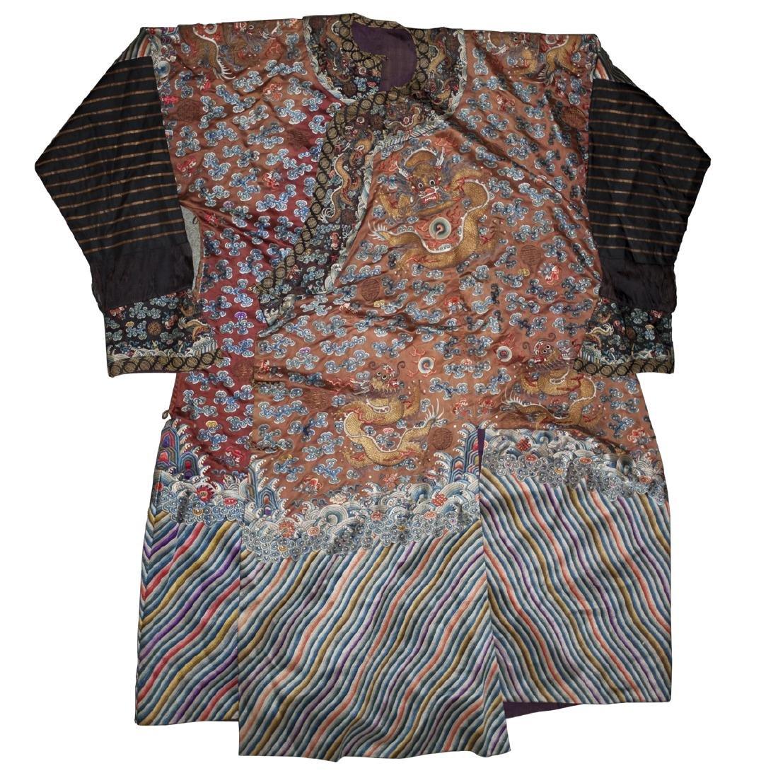 Chinese Silk Kimono