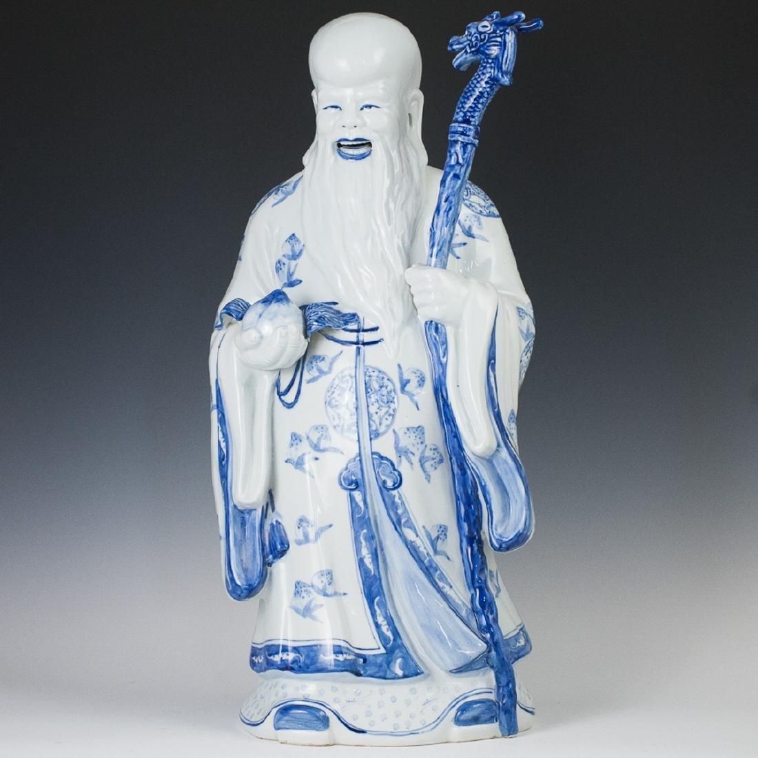Chinese Decorative Porcelain Shou Xing