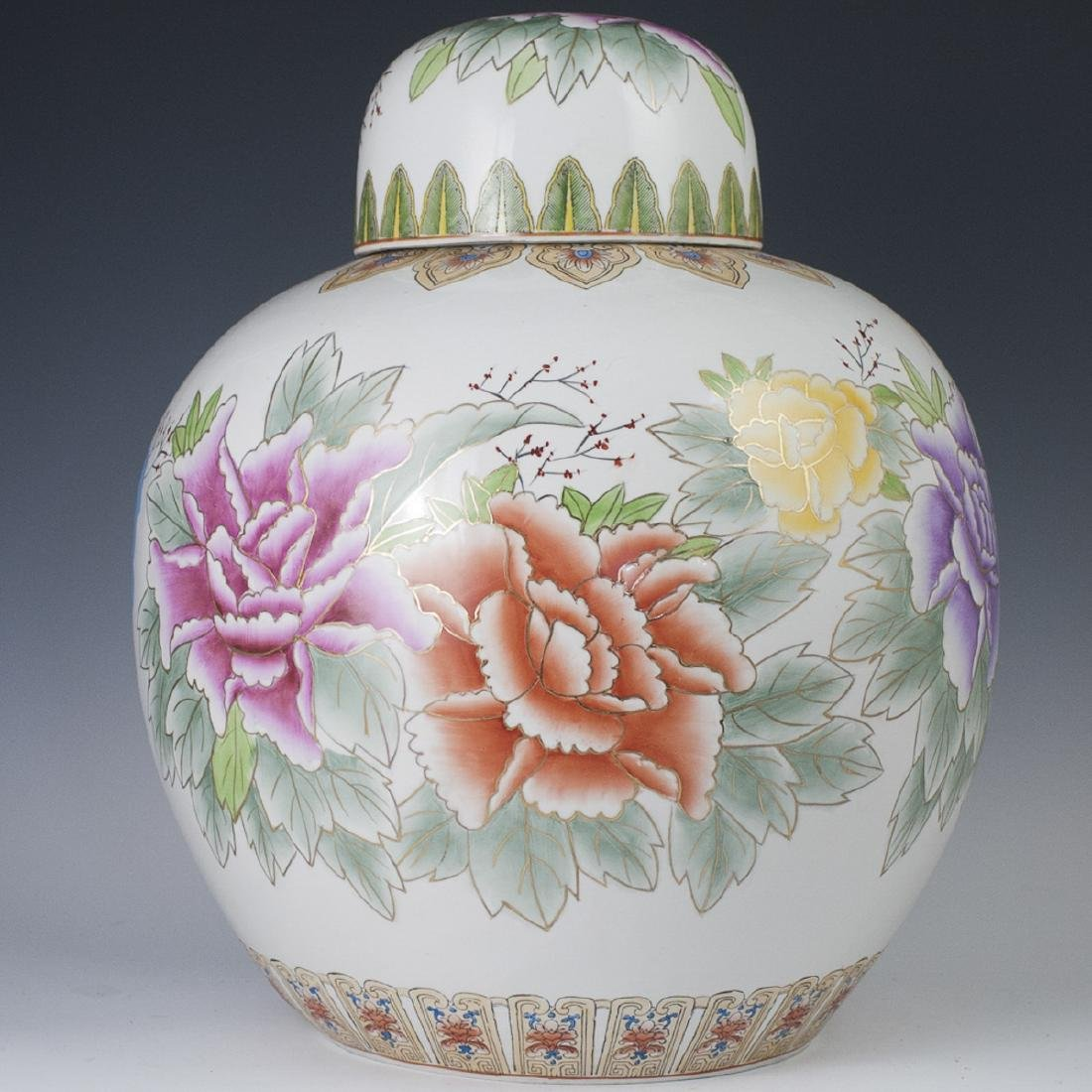 Large Chinese Porcelain Ginger Jar