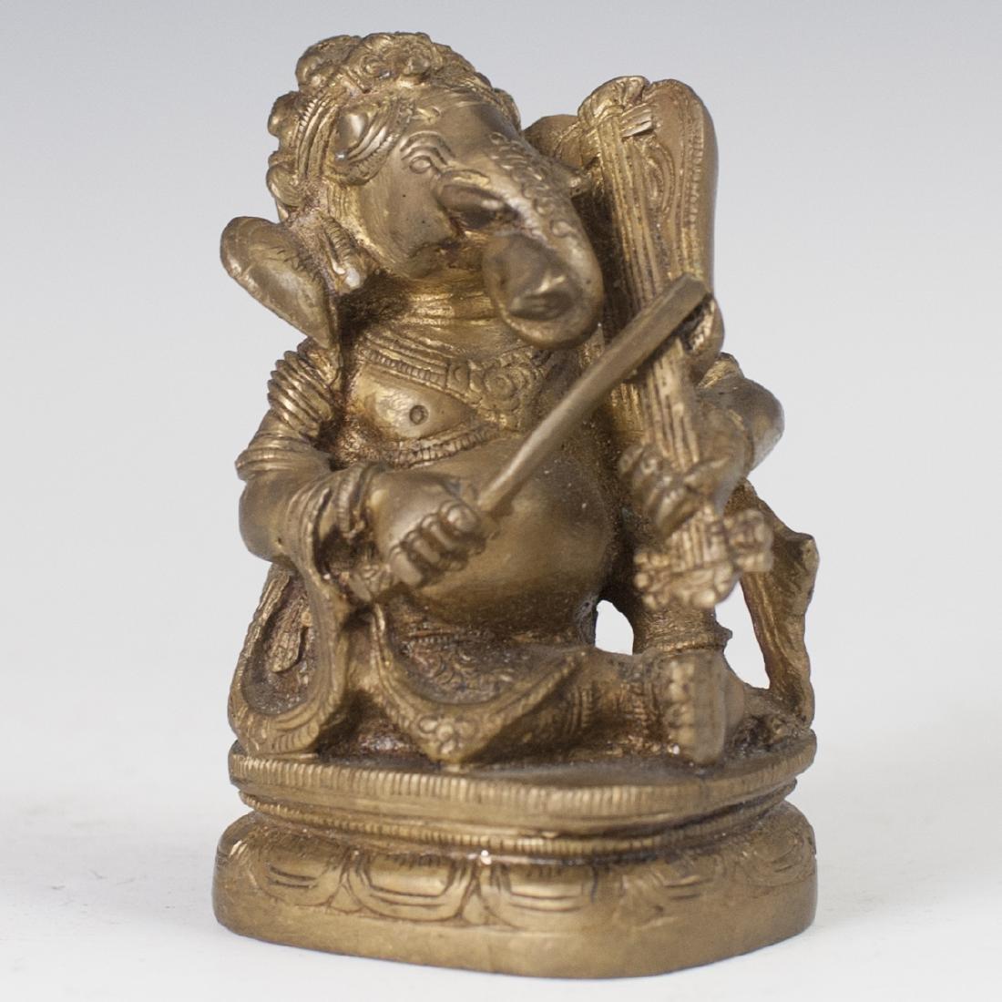 Indian Bronze Ganesh Figurine