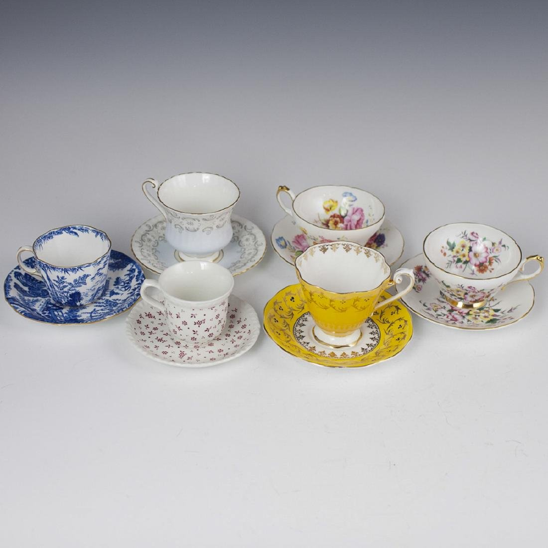 English Porcelain Tea Cups