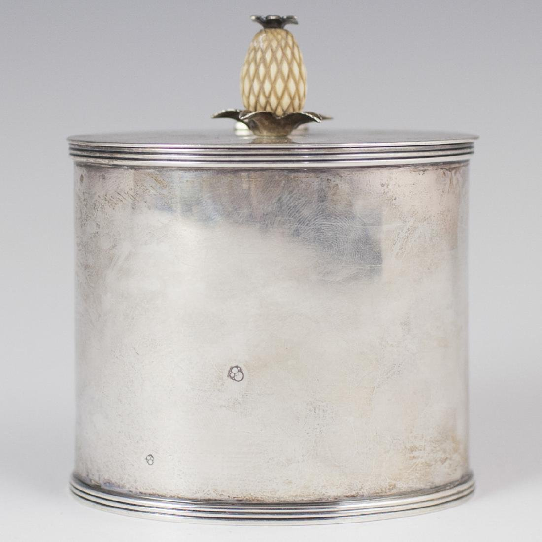 Antique Sterling Tea Caddy
