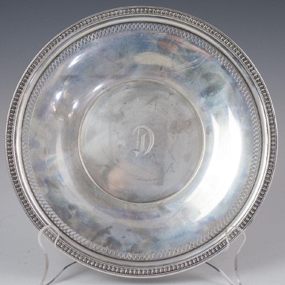Richard Dimes Co. Sterling Plate