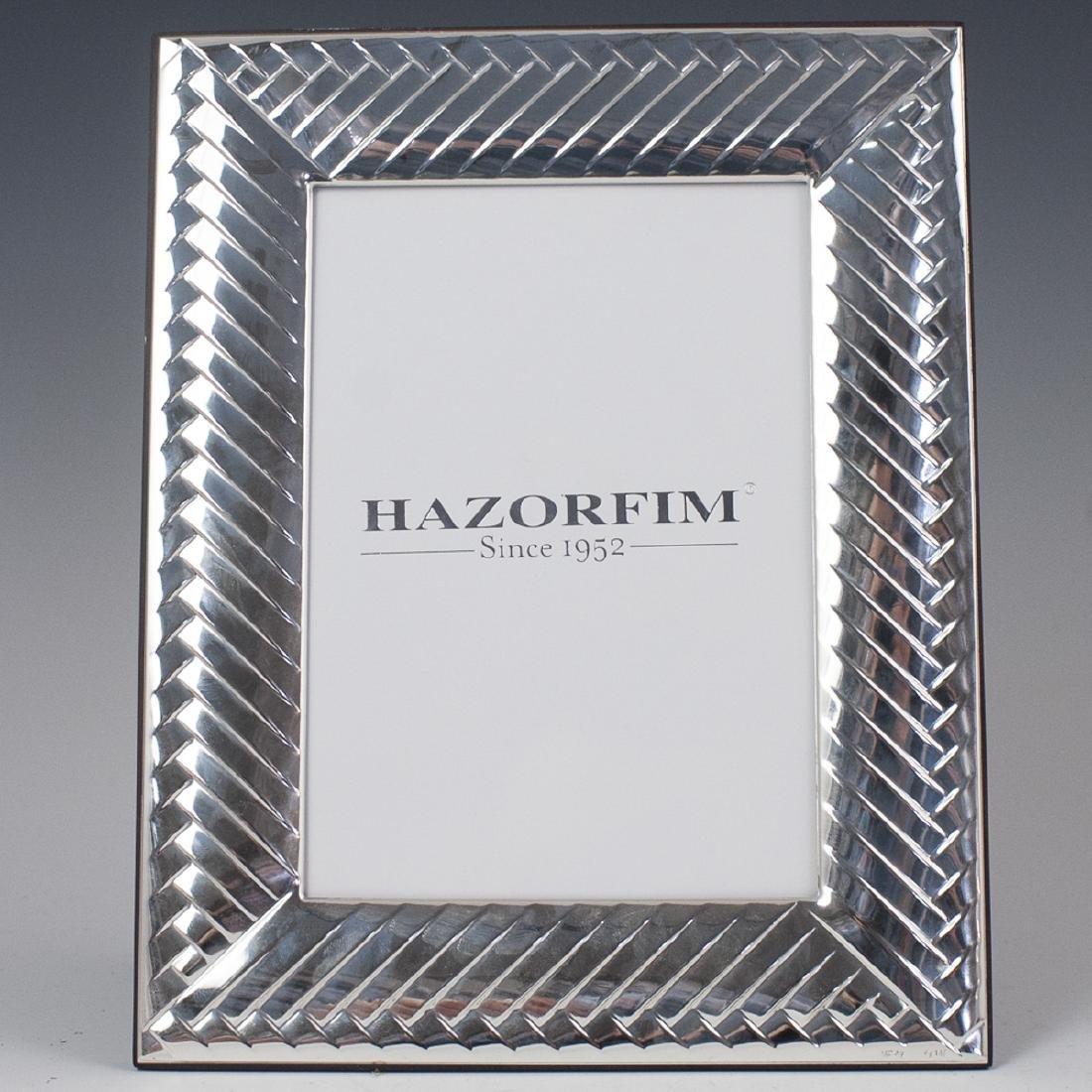 Hazorfim Sterling Picture Frame