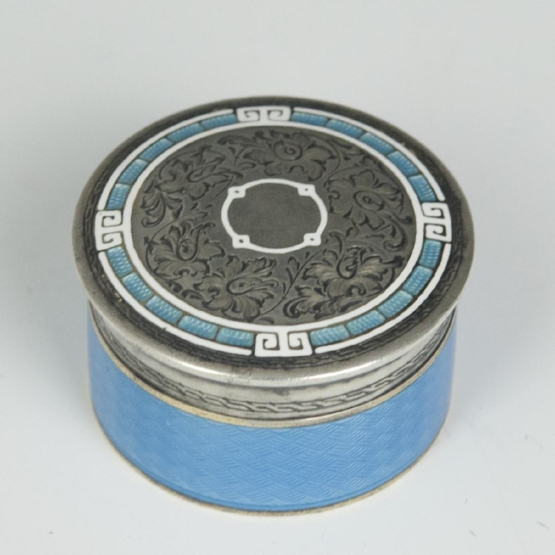 William Kerr For Tiffany & Co. Sterling Trinket Box