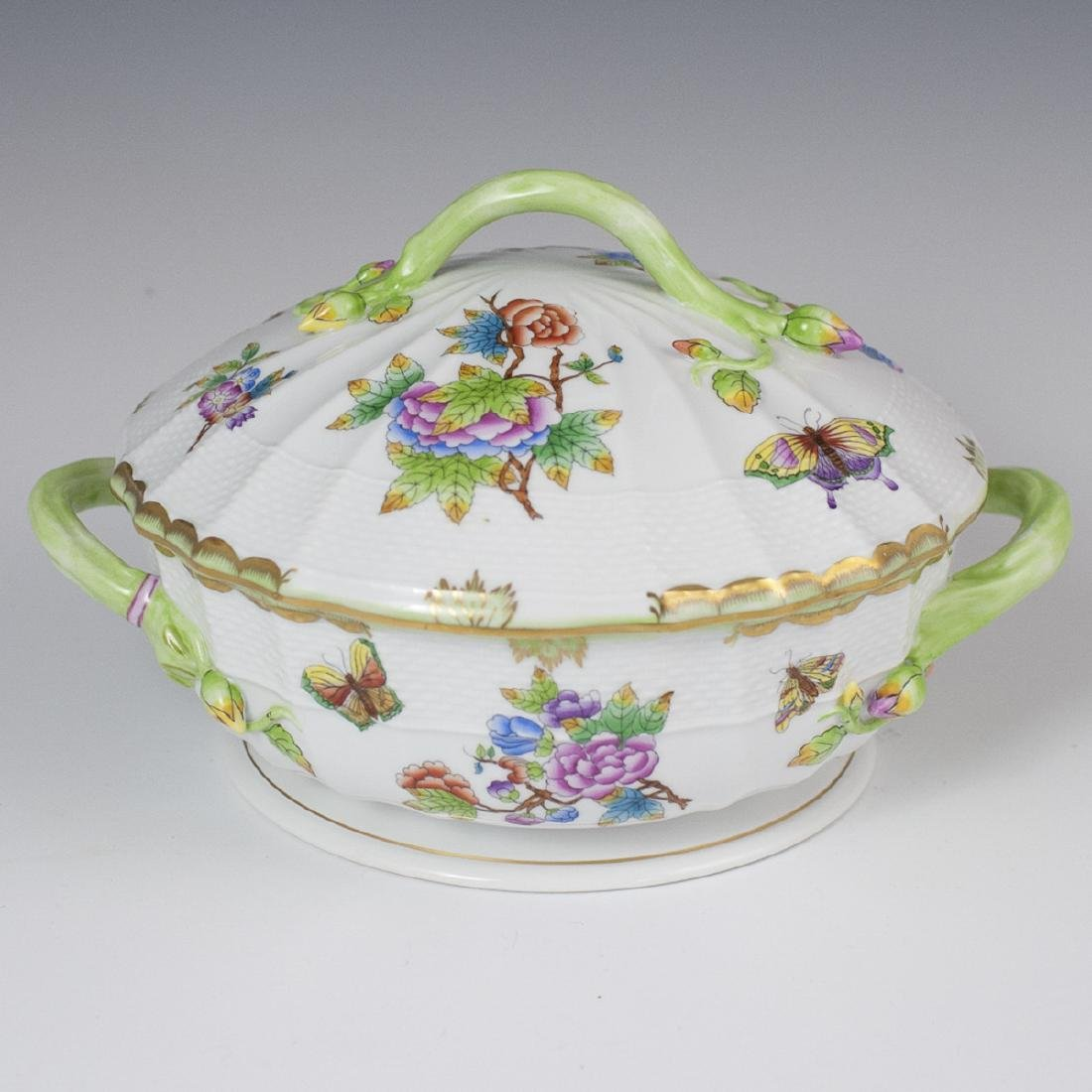 "Herend ""Queen Victoria"" Soup Tureen"