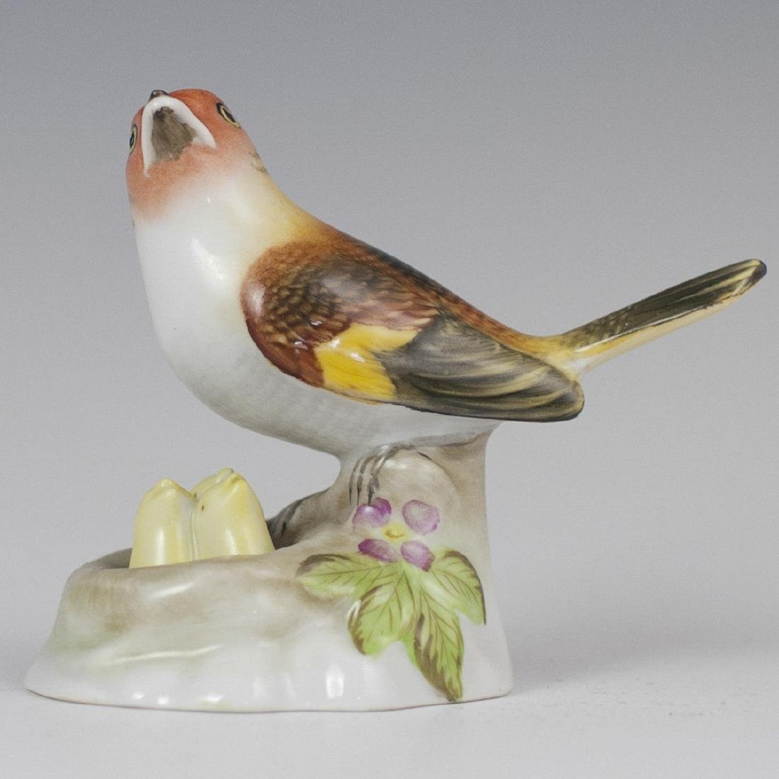 Herend Porcelain Bird Figurine