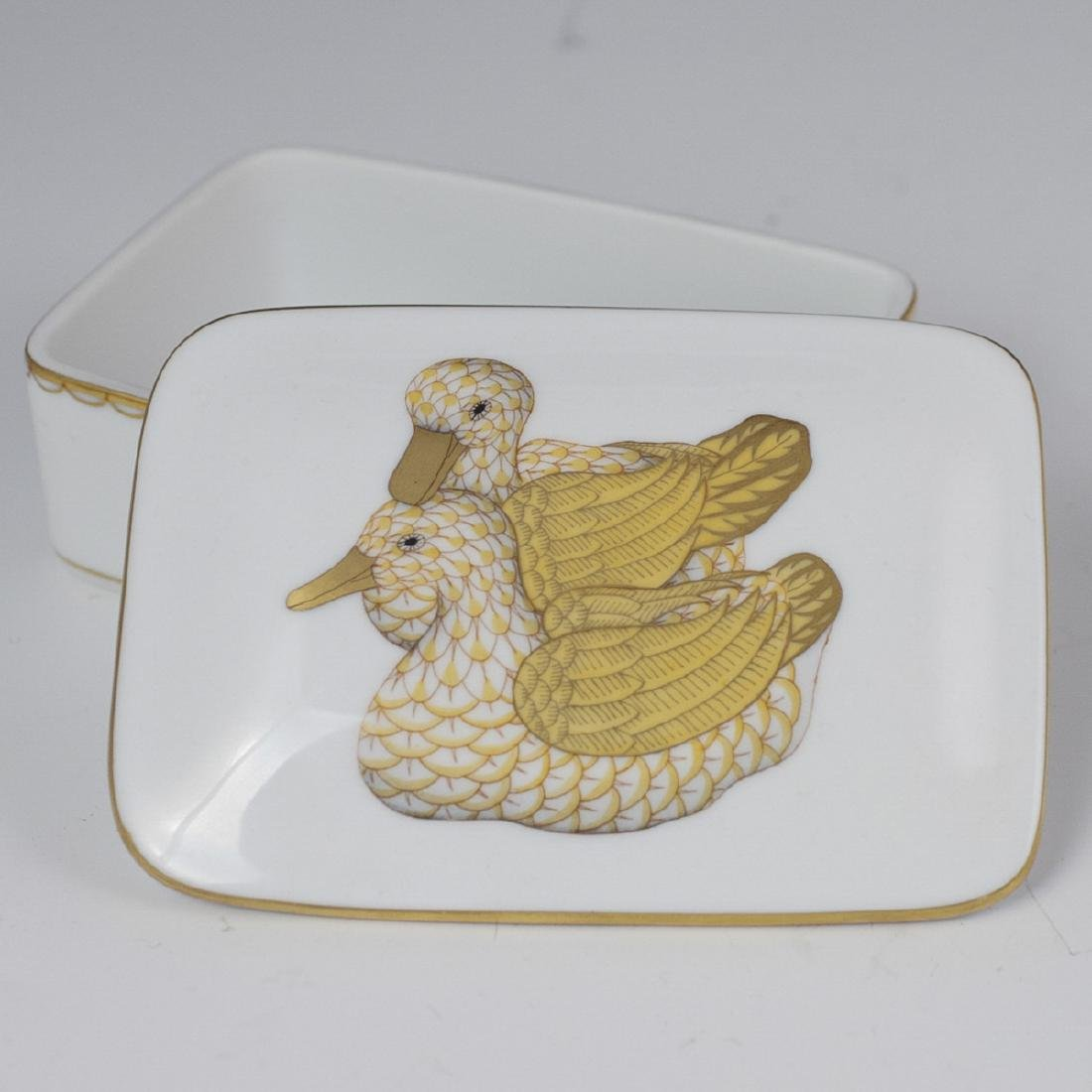 Herend Porcelain Trinket Box