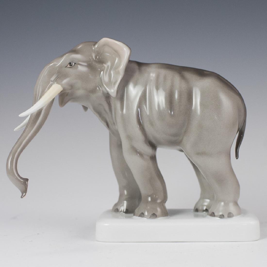 Herend Porcelain Elephant Figurine