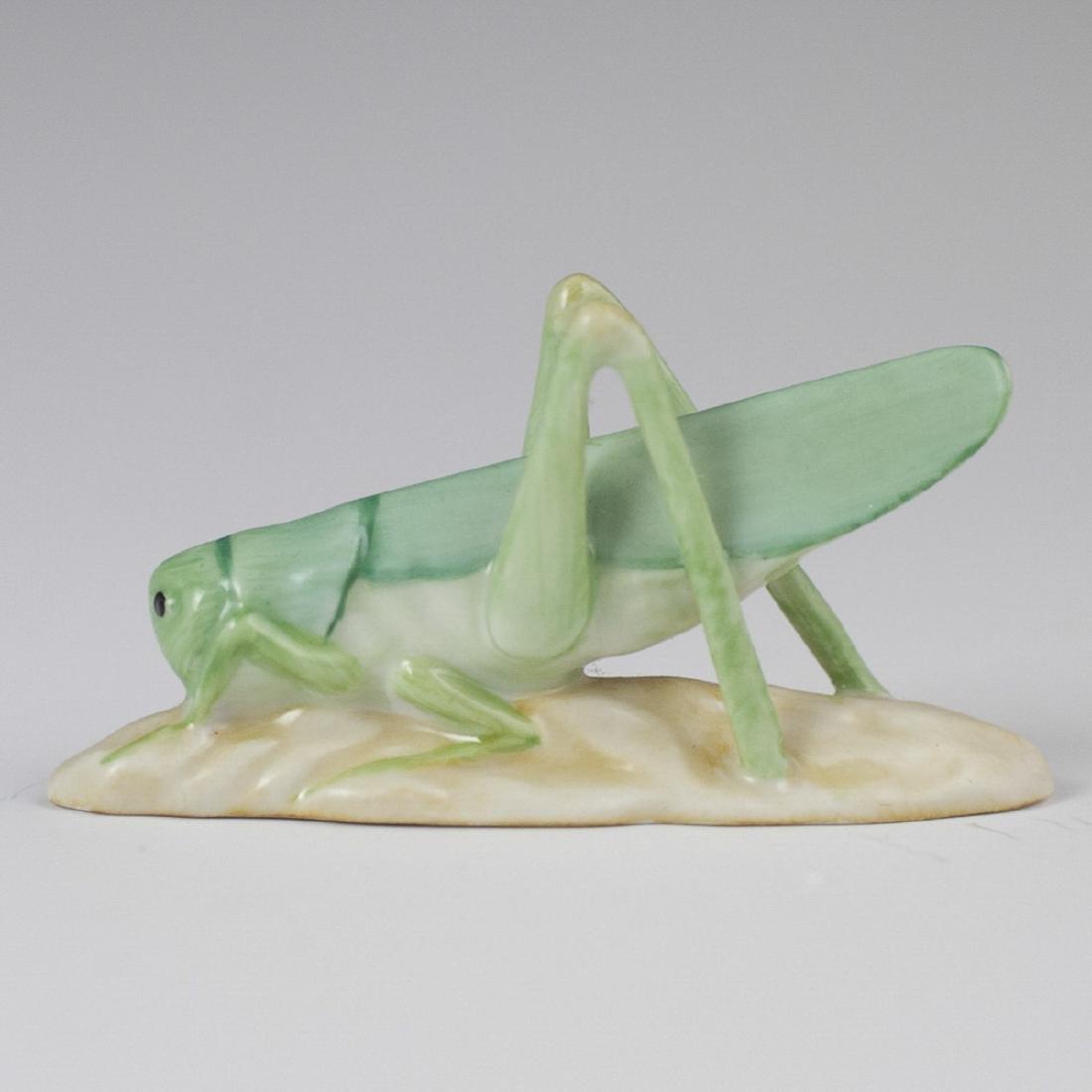 Herend Porcelain Cricket Figurine