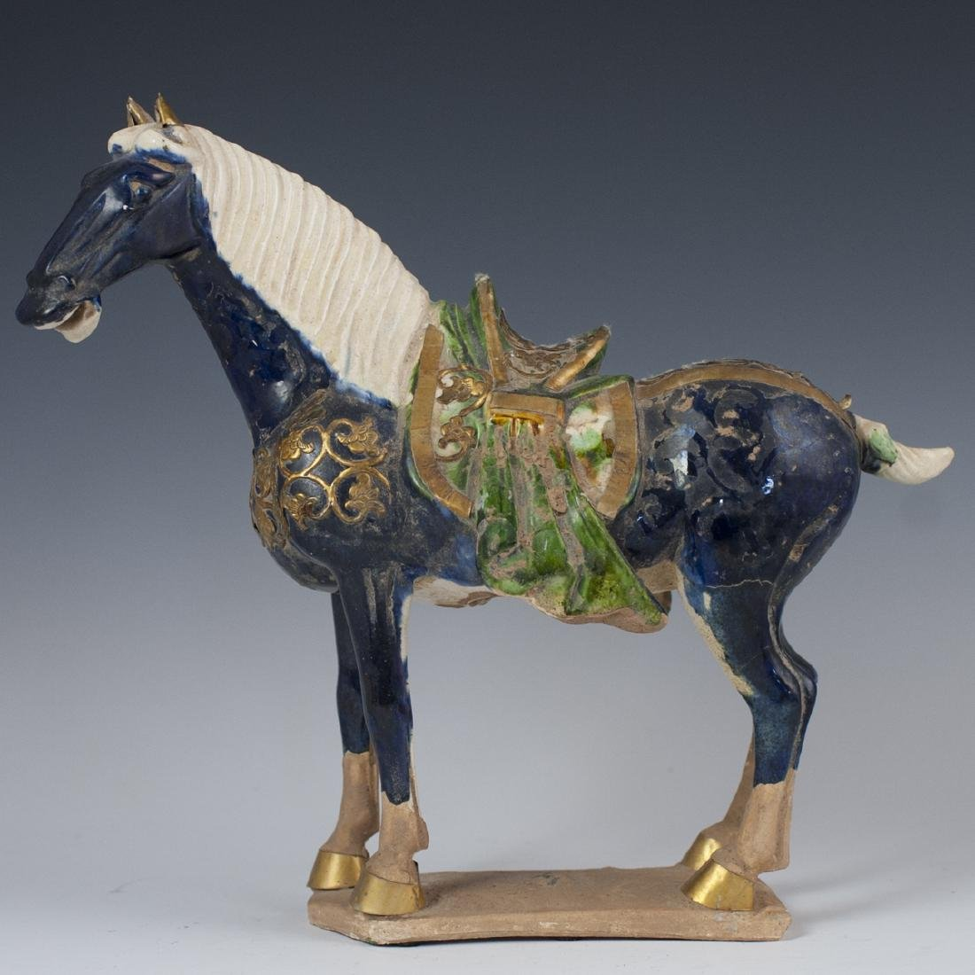 Chinese Tang Style Terracotta Horse
