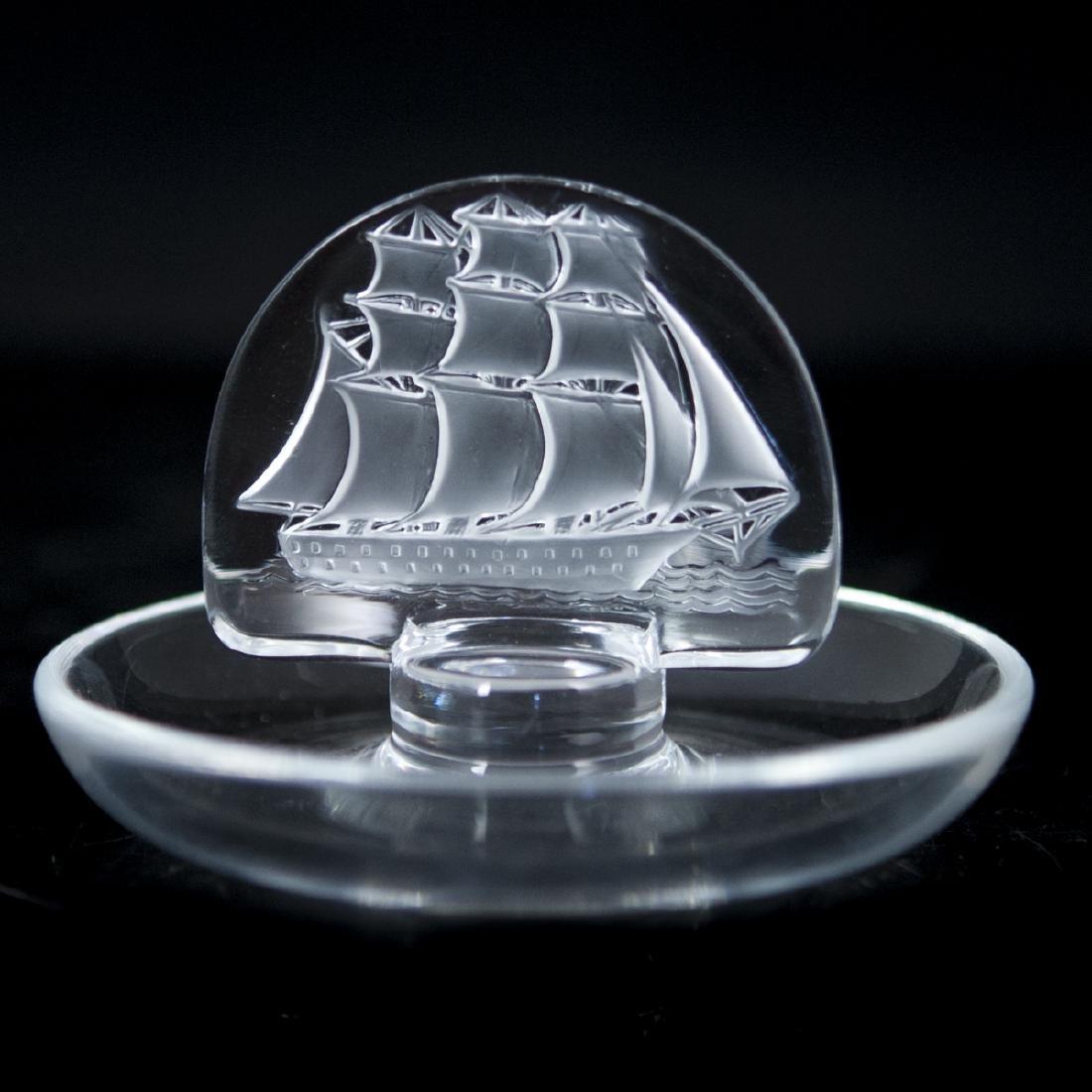 Lalique Crystal Pin Tray